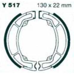 Mâchoires Frein IT 200 / YZ 125 arrière 1983-1986