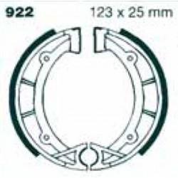 Mâchoires de frein AV/AR 123x25