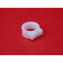 Guide câble/durite de frein Blanc