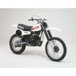 Housse de selle YZ 250/465 1980/1981