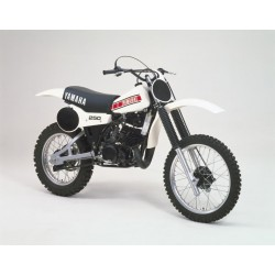 Housse de selle YZ 250/465 1980/81