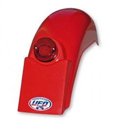 Garde-boue arrière Enduro rouge Falk Replica