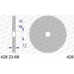 Frettes Aluminium Pas. 428