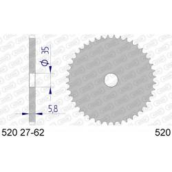 Frettes Aluminium Pas. 520