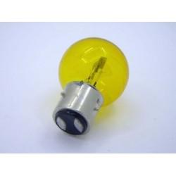 Ampoule de phare 12V 40/45W BA21D Jaune