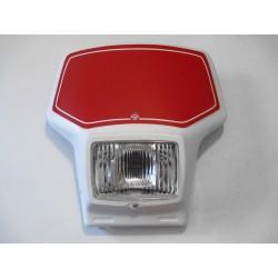 Plaque-phare blanche type TT 350/600 & WRZ