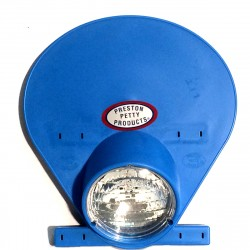 Plaque phare Preston Petty bleue