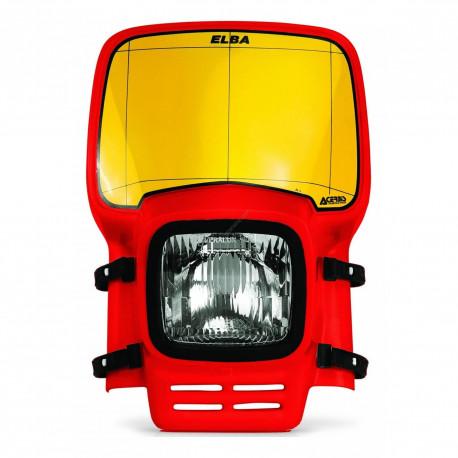 Plaque-phare Acerbis Elba rouge