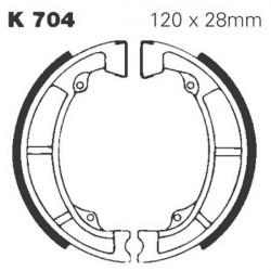 Mâchoires frein avant KDX 175 1980-1982 & KX 125