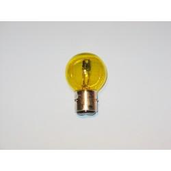 Ampoule de phare 6V 35/35W BA21D Jaune