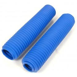 Soufflets de fourche bleu D.43mm