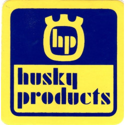 "Autocollant Husqvarna ""Husky Products"""
