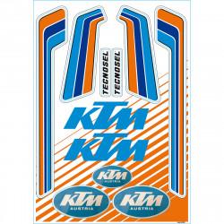 Stickers Tecnosel Vintage KTM 1981-1982