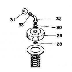 Joint-rondelle Yamaha 509-14198-00