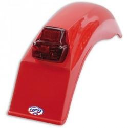 Garde-boue arrière rouge Enduro 1979-1989
