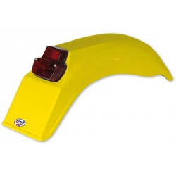 Garde-boue arrière jaune Enduro 1979-1989